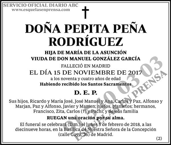 Pepita Peña Rodríguez